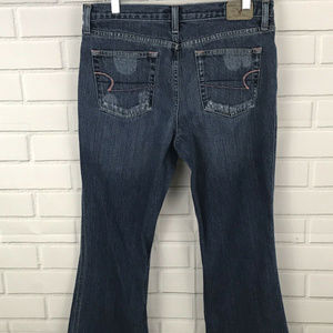 American Eagle Womens Petite Distressed Jeans